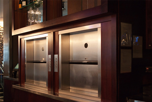 Customised Service Lifts / Dumbwaiters